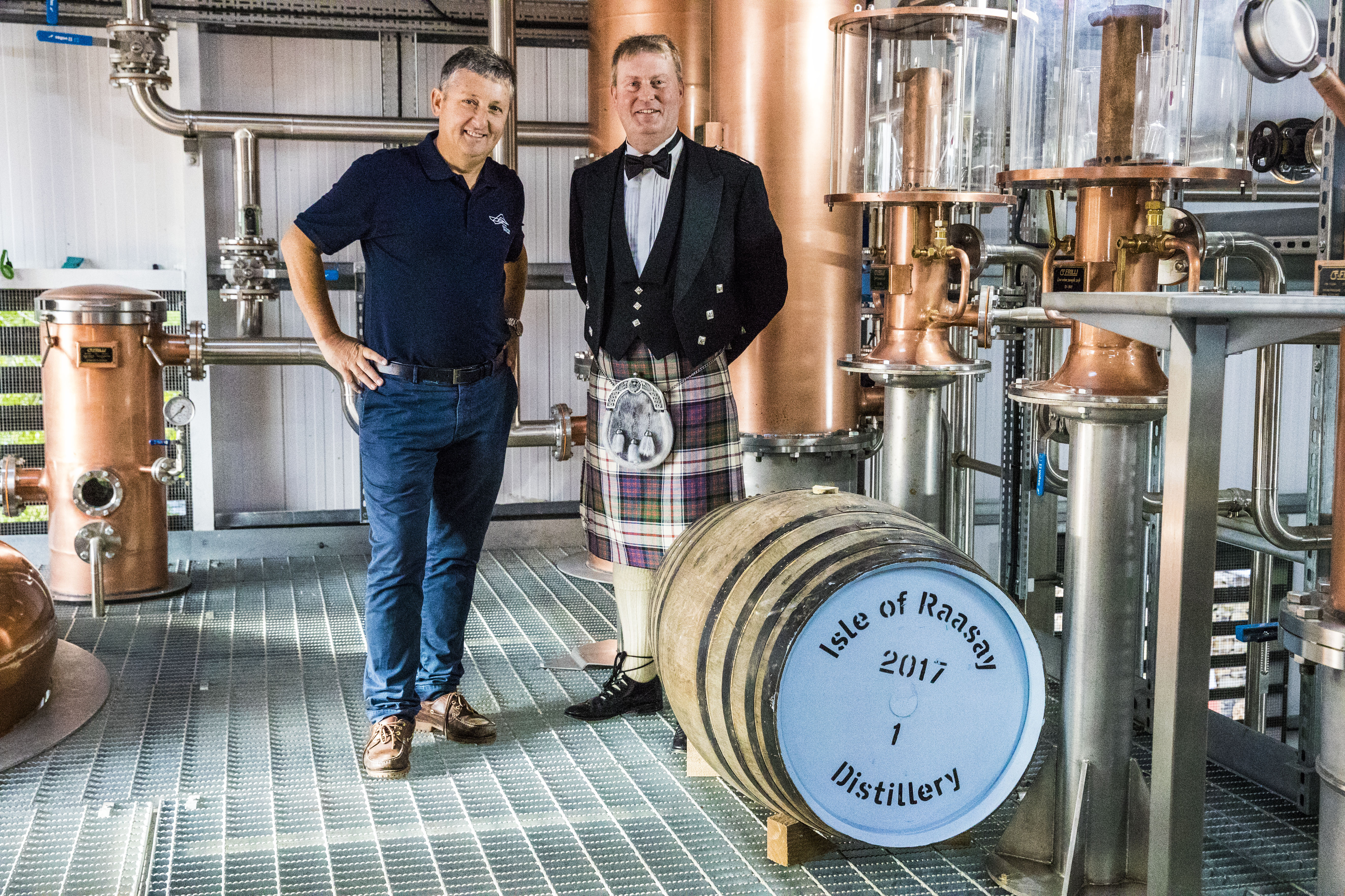 plockton brewery and raasay distillery's first cask