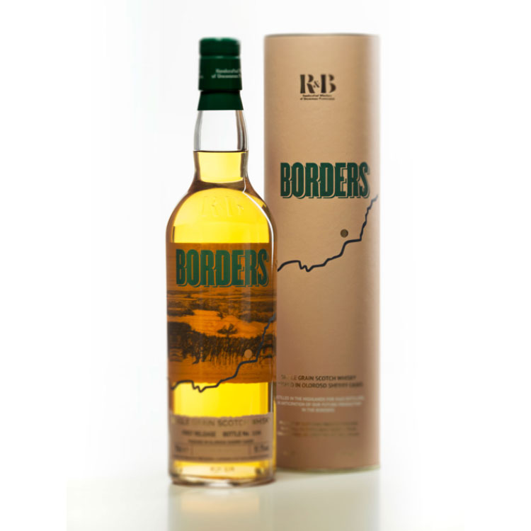 Borders 2nd Release; a highland single grain Scotch whisky