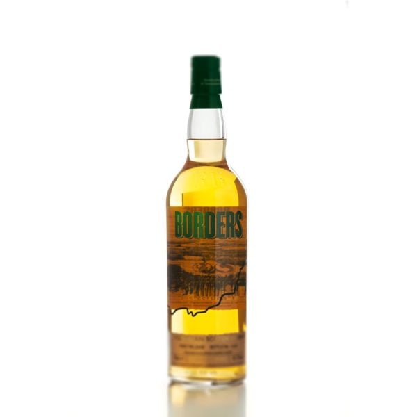 Borders 2nd Release; a highland single grain Scotch whisky bottle
