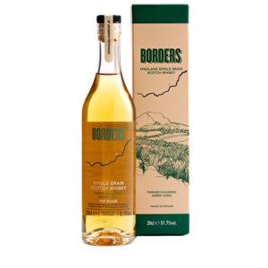 Borders; a highland single grain Scotch whisky 20cl bottle