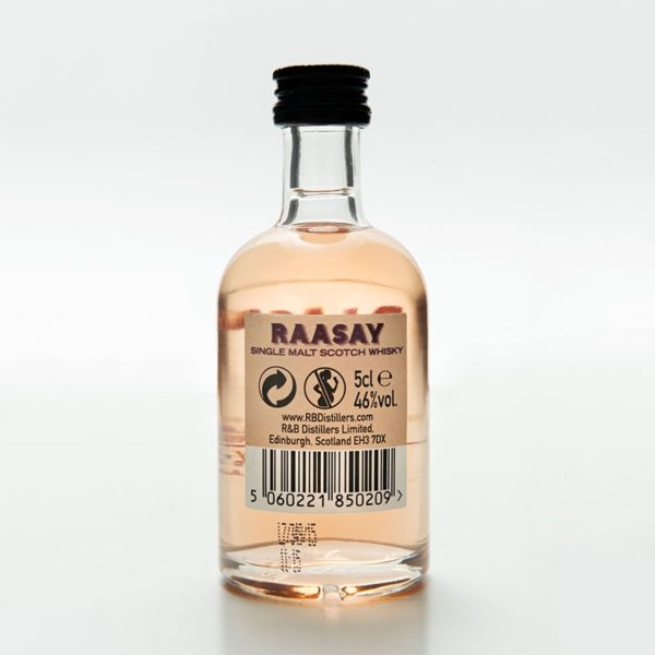 Raasay While We Wait Miniature (5cl) back