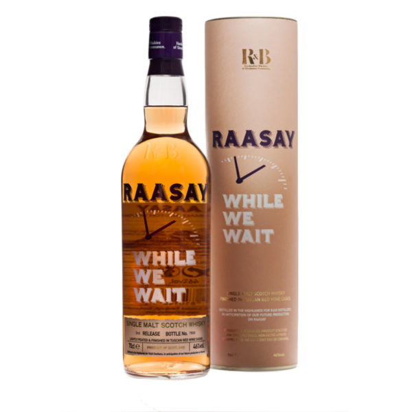 Raasay While We Wait - 3rd Release (70cl)