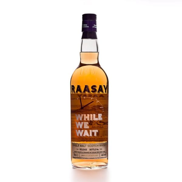 Raasay While We Wait 3rd Release bottle front