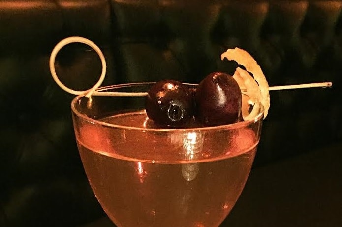 St Andrew's Day Martini Cocktail