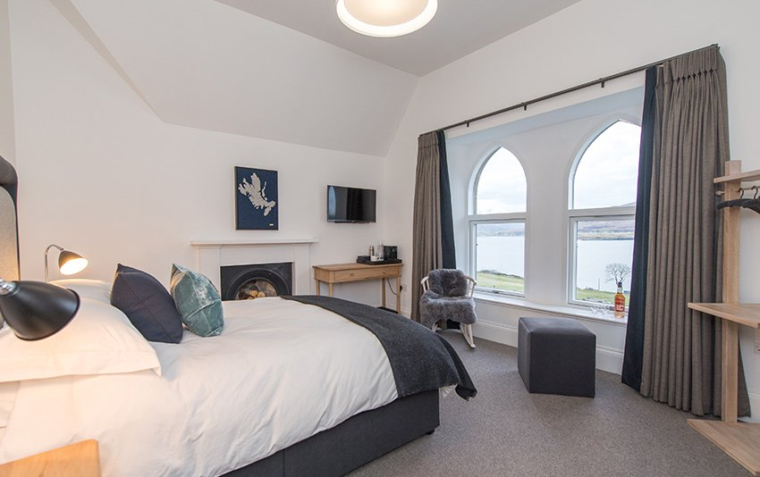 Raasay Luxury Accommodation Bedrooms