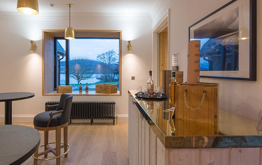 Luxury Whisky Tasting Room