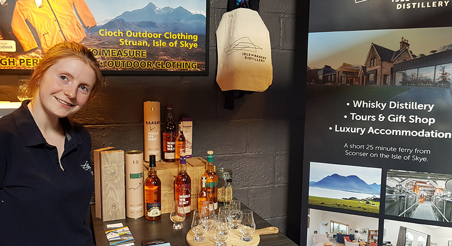 Raasay Distillery Isle of Skye Whisky Tastings