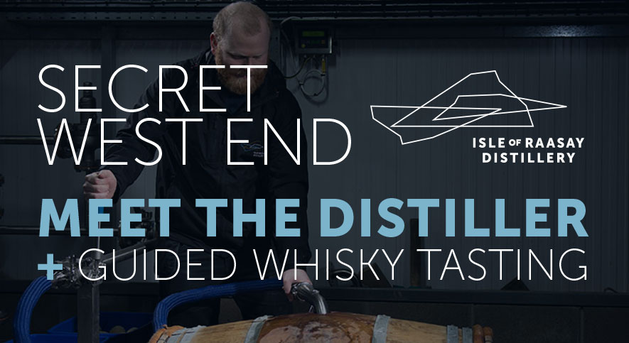 Secret Whisky Tasting Event Edinburgh