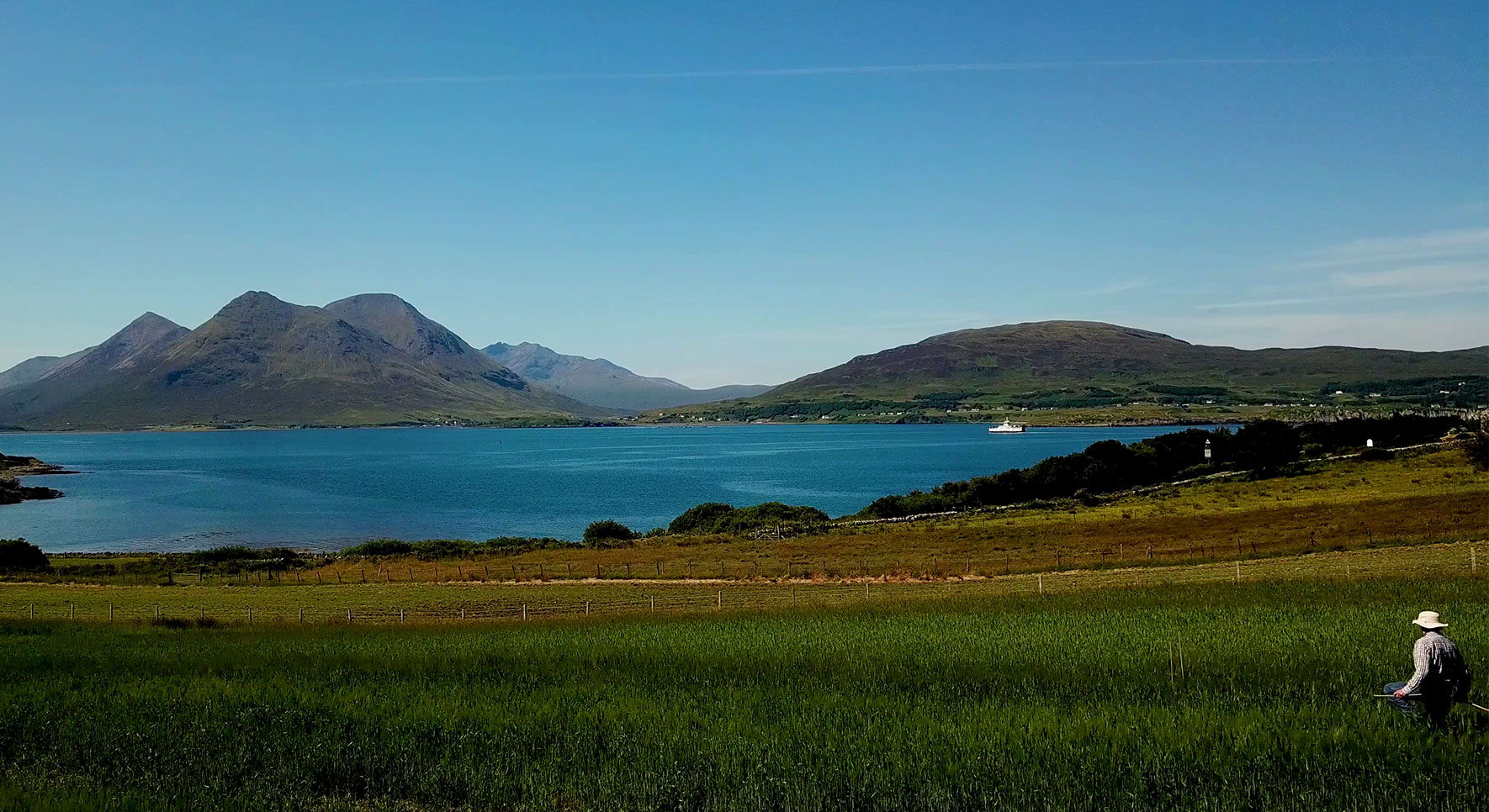 Raasay from Field to Still