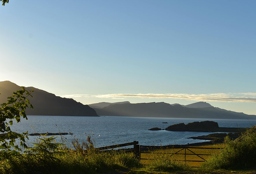 Towards Skye from the Isle of Raasay