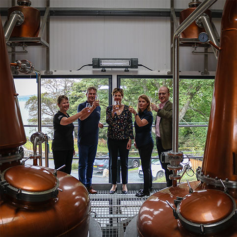 The Hebridean Whisky Trail Has Launched, Raasay Distillery