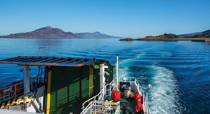 Hebridean Whisky Trail by Ferry