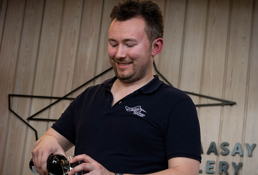 Chris Hoban, Raasay Distillery Sales & Brand Ambassador