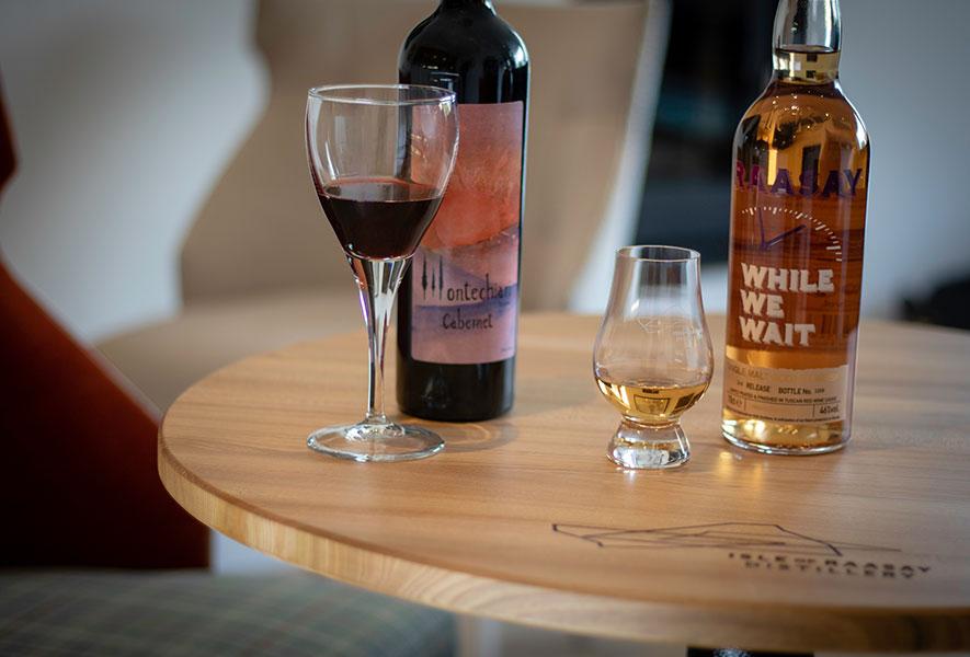 Raasay Distillery Montechiari Wines