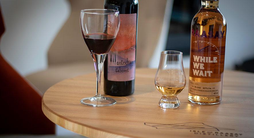 Raasay Distillery's Tuscany Montechiari Wines