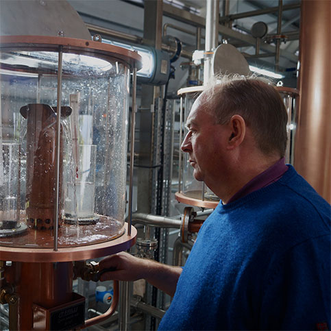 Raasay Distillery's First Distillation