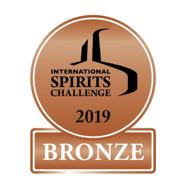International Spirits Challenge 2019 - Bronze Award