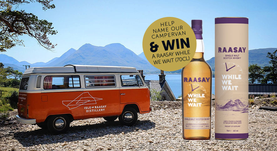 Help Name Our VW Campervan & Win a Bottle of While We Wait