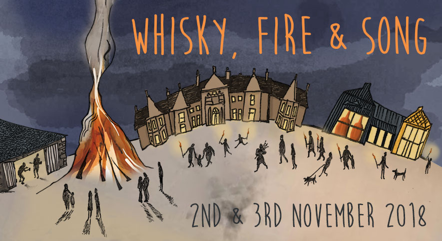 Whisky, Fire & Song 2018, Isle of Raasay