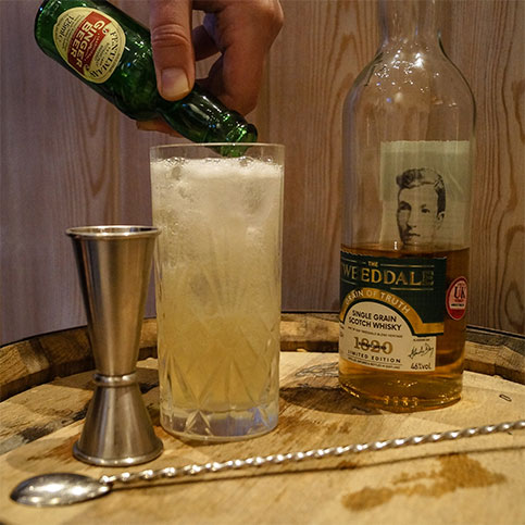 The Tweeddale Grain of Truth, Whisky and Fentiman's Ginger Ale