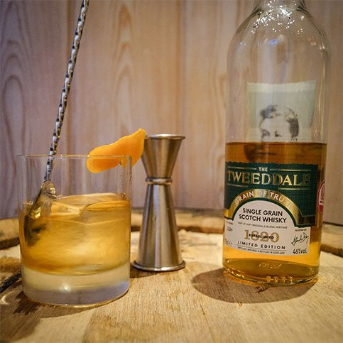 The Tweeddale Grain of Truth, Rusty Nail Cocktail