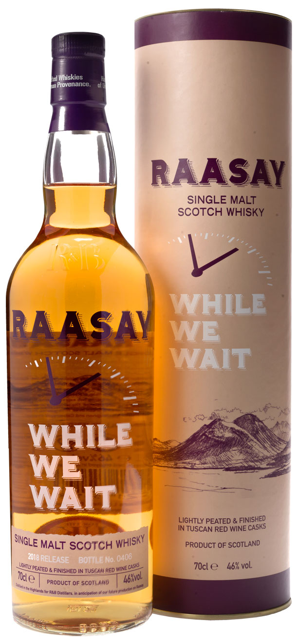 Raasay While We Wait Single Malt Scotch Whisky – 2018 Release