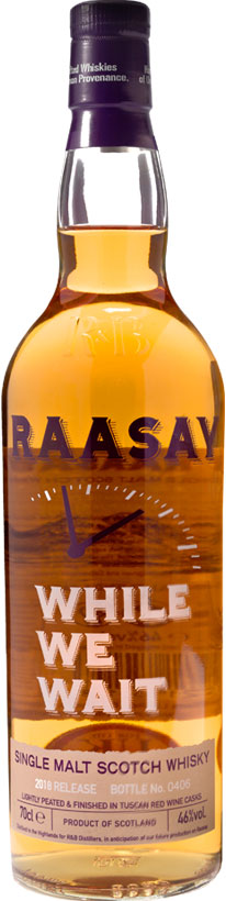 Raasay While We Wait – 2018 Release (70cl)