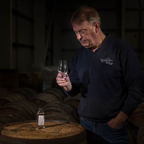 Burns & Whisky Weekend at Raasay Distillery Warehouse Tour