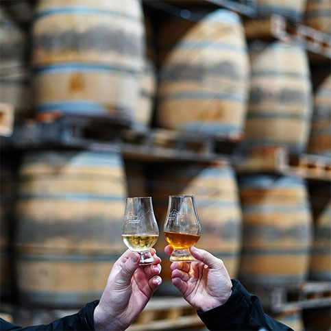 New Year, New Make Whisky Experience - Warehouse Tour & New Make Tasting