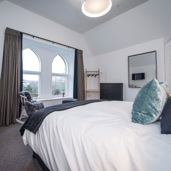 Winter Whisky Retreats Distillery Accommodation Bedroom