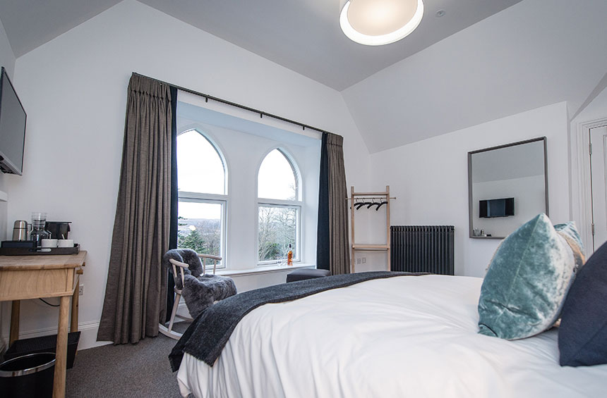 Luxury Isle of Raasay Distillery Accommodation