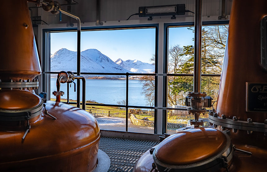 First Legal Distillery on Raasay