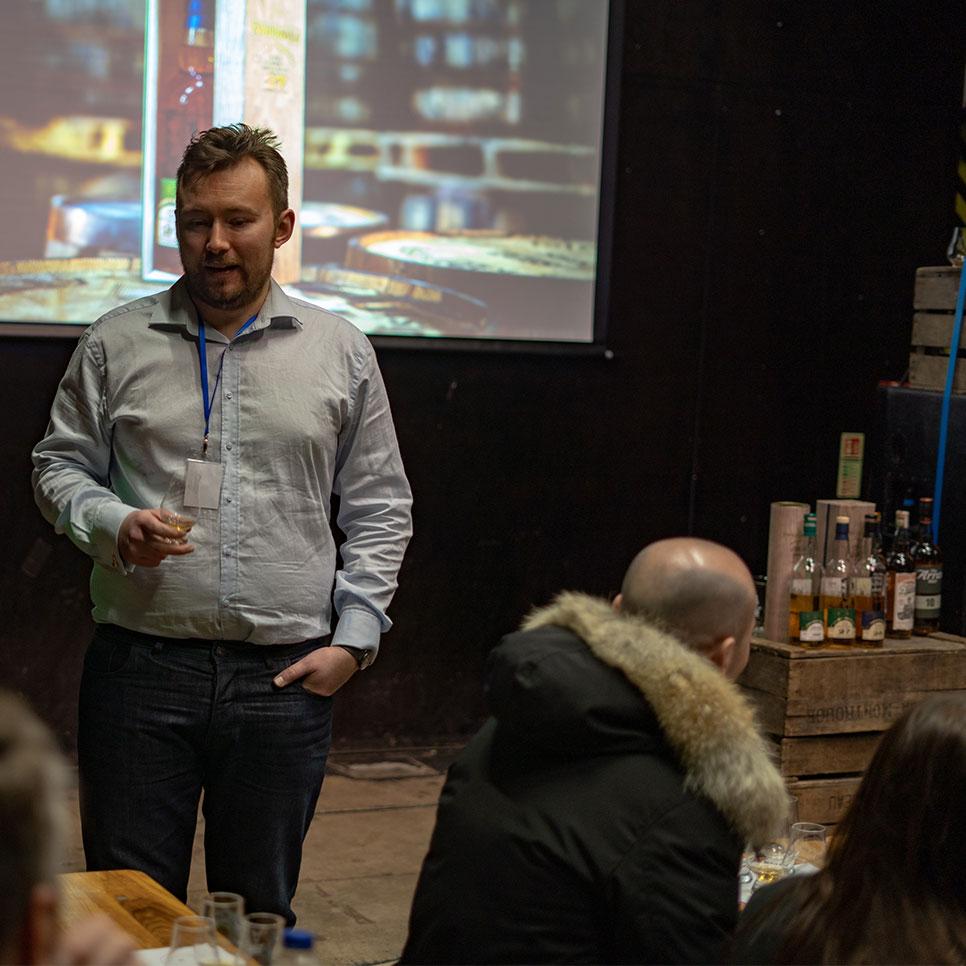 Chris Hoban at National Whisky Festival