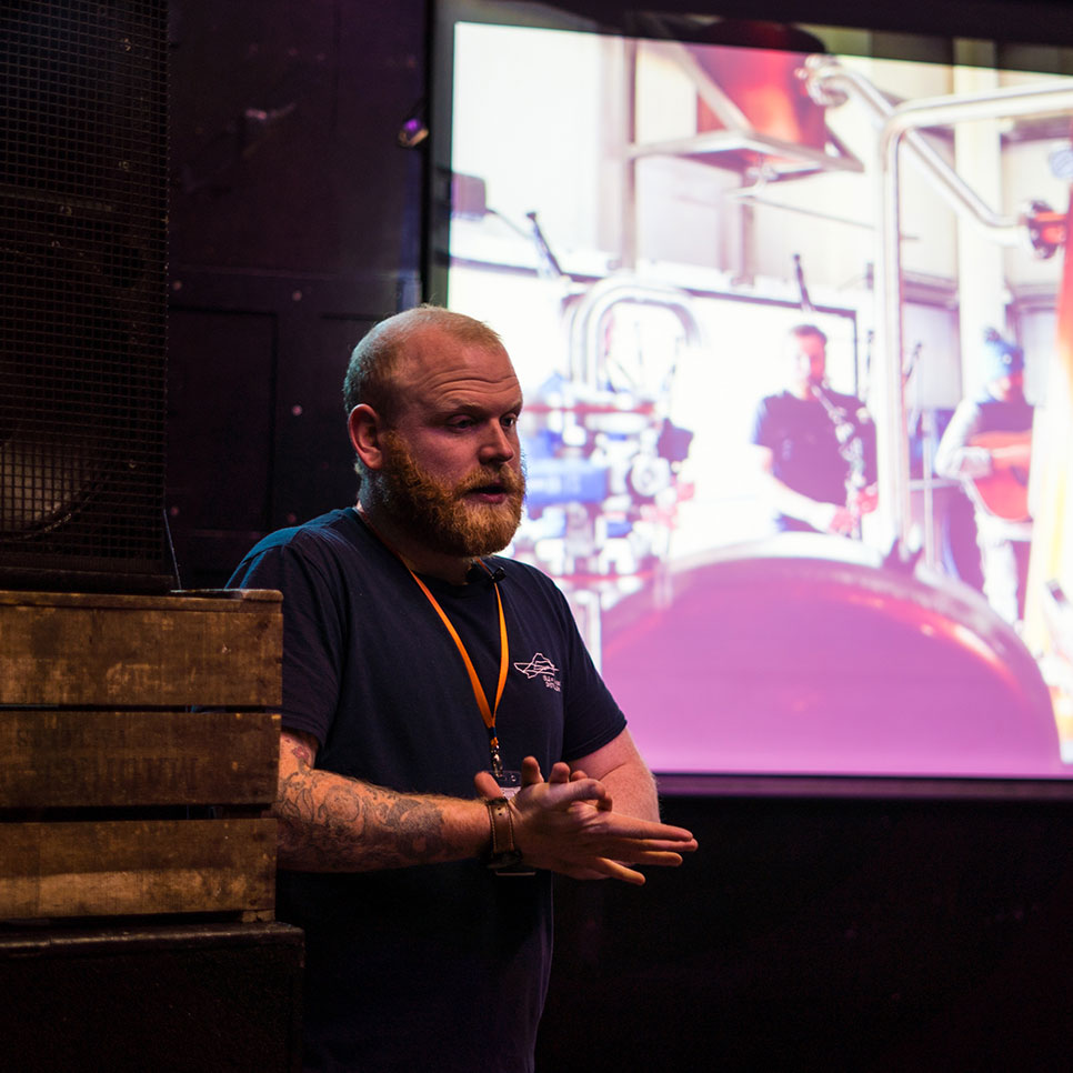 Iain Robertson at National Whisky Festival