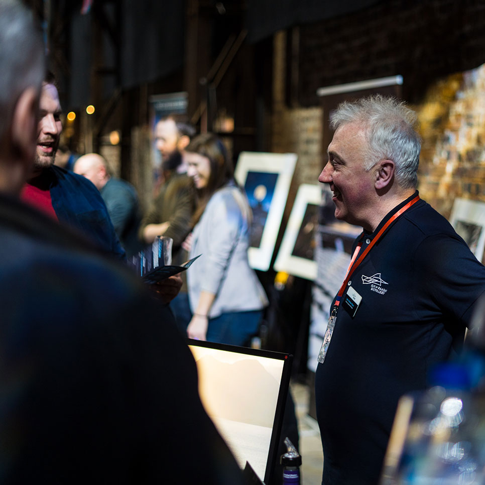 Iain Hector Ross at National Whisky Festival