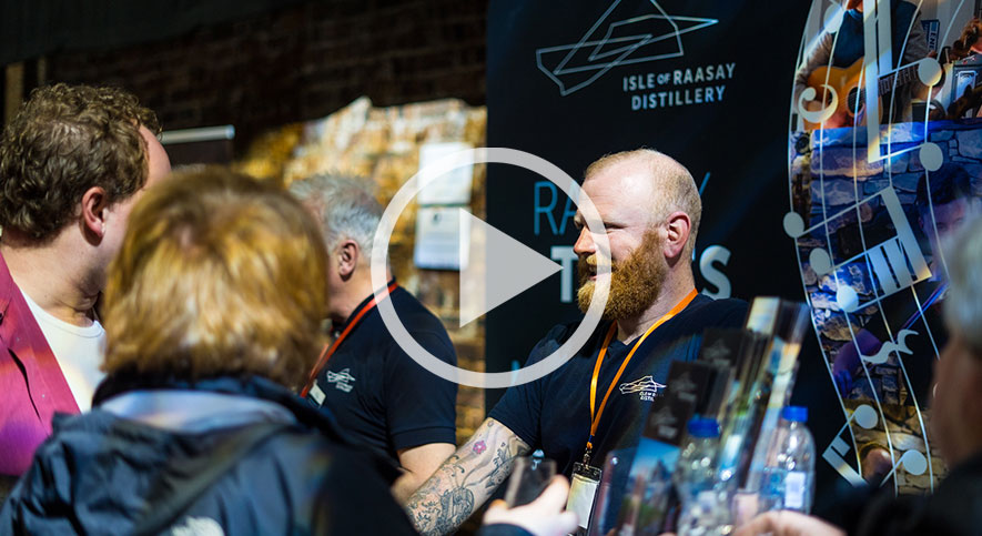 Launching Raasay's Inaugural Release & Small Casks at National Whisky Festival