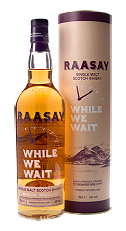 Gold Award for Raasay While We Wait