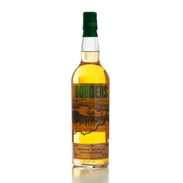 Borders Single Grain Scotch Whisky - First Release Bottle