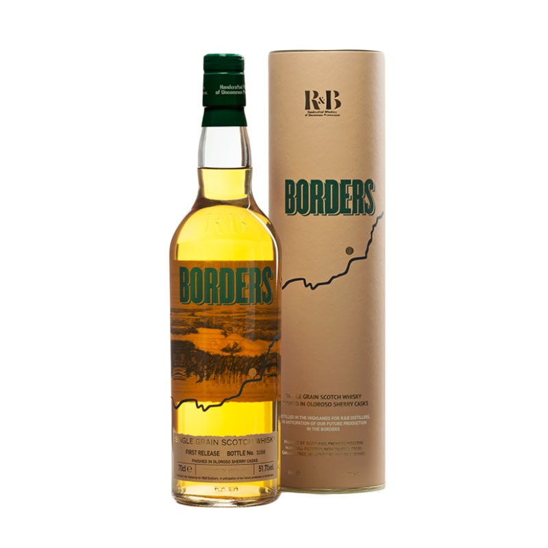 Borders Single Grain Scotch Whisky - First Release
