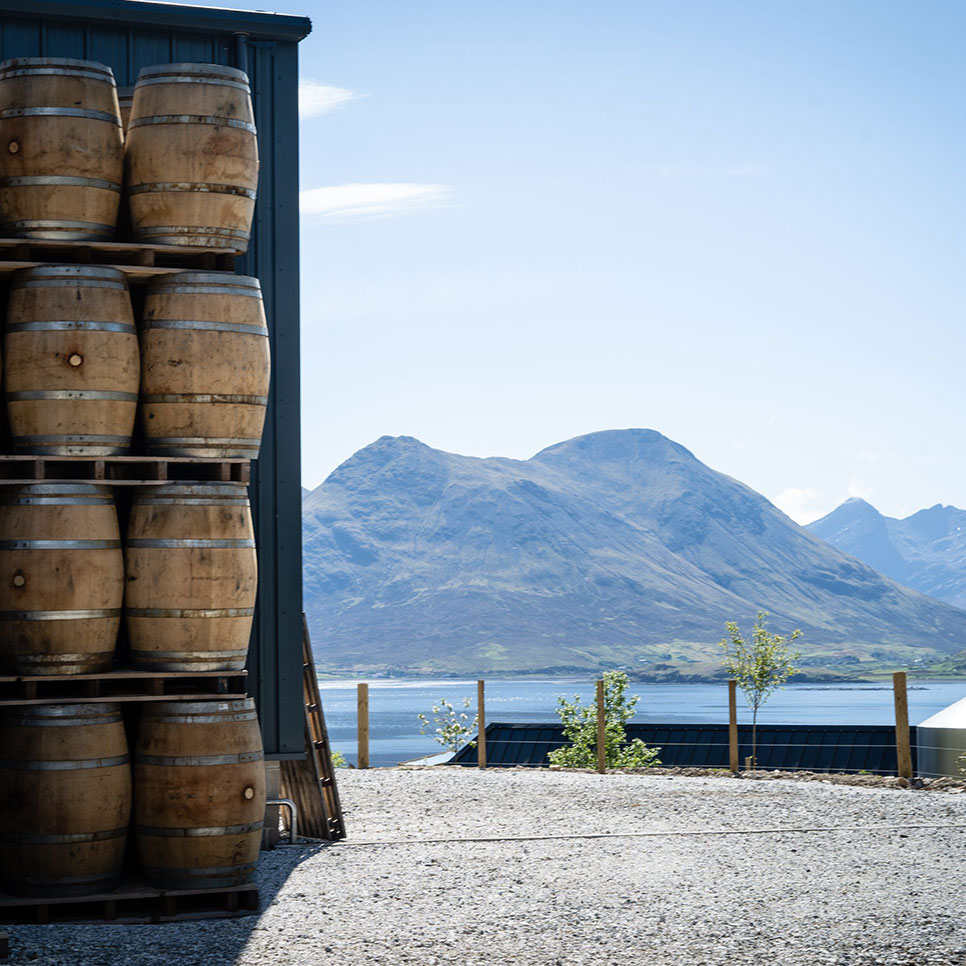 Raasay Distillery Warehouse