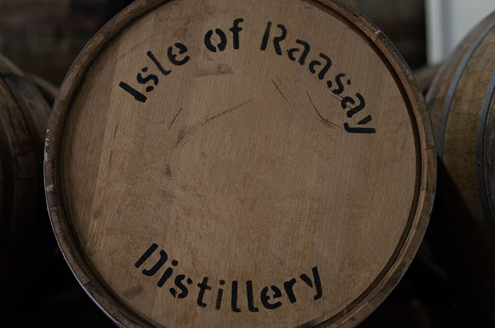 Raasay Distillery Chinkapin Oak Cask