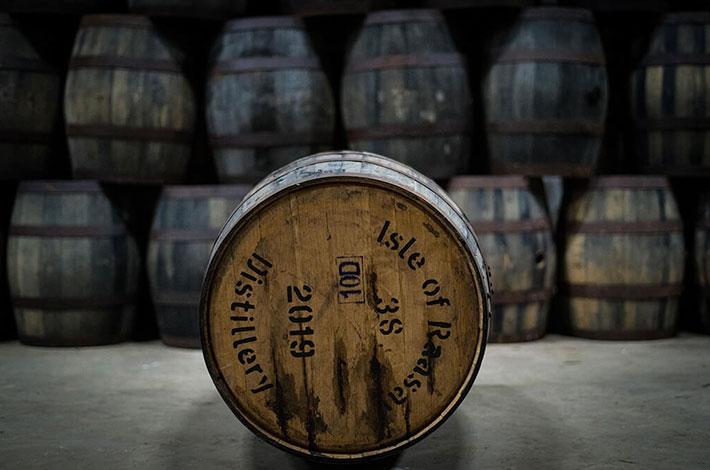 Four Roses Bourbon Raasay Distillery Cask