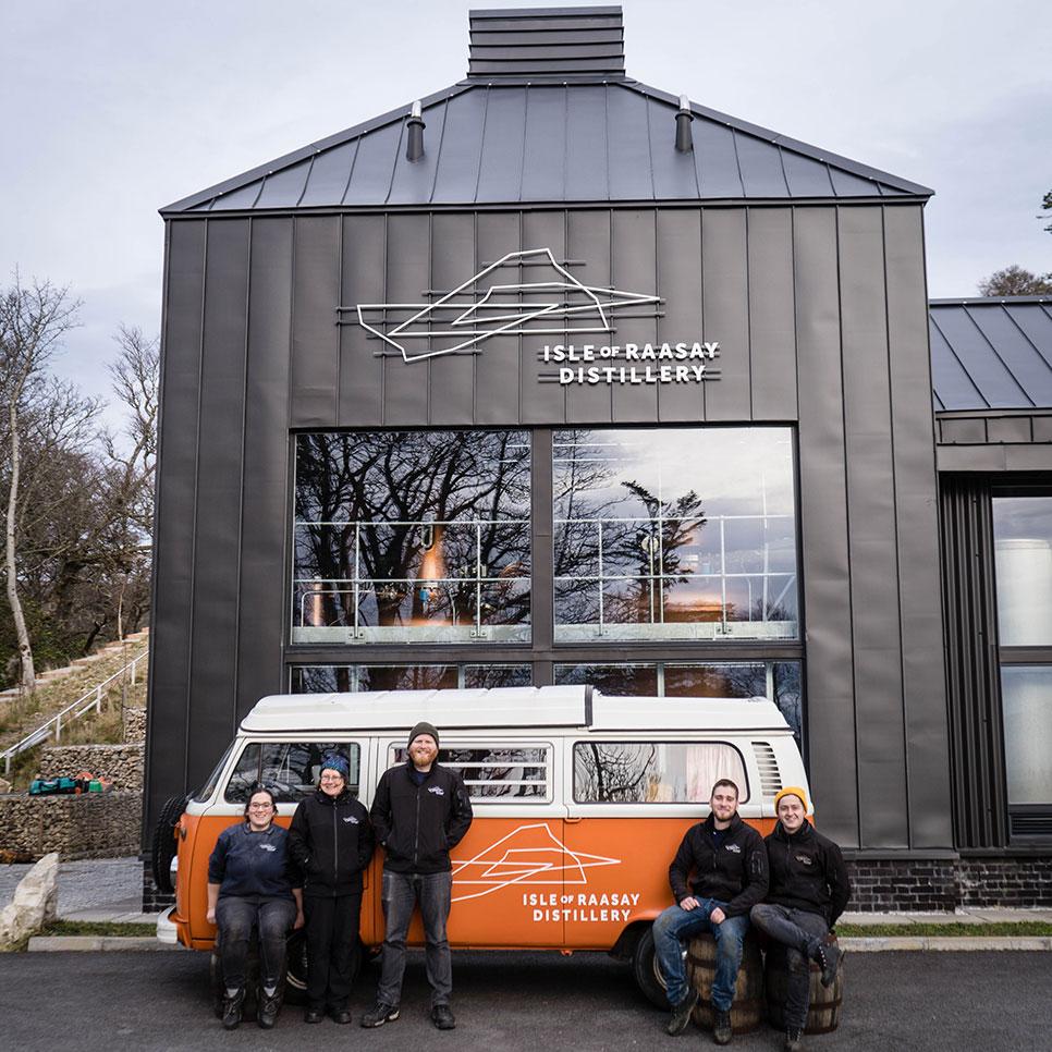 Celebrating World Whisky Day Distillery Team