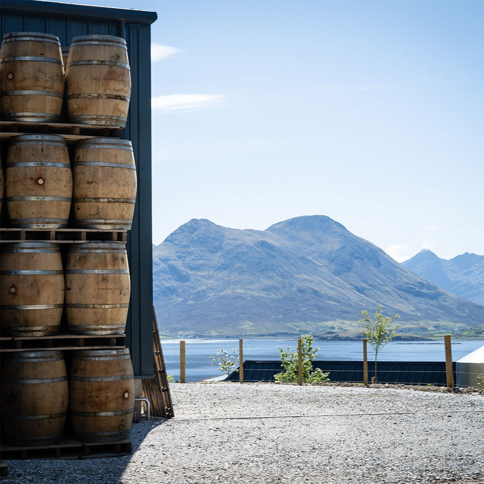 Celebrating World Whisky Day Raasay Distillery Warehouse