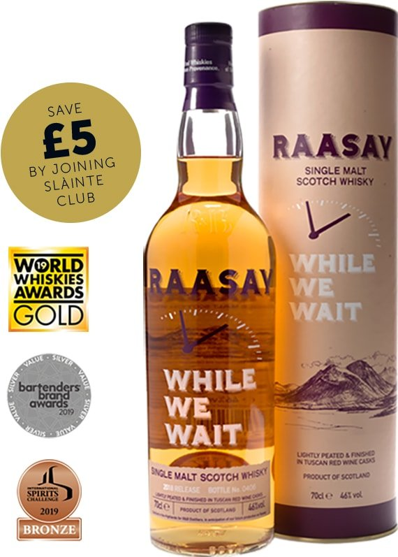 Raasay While We Wait Single Malt Scotch Whisky