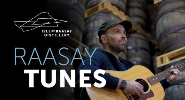 Live Music from Willie Campbell at Raasay Distillery