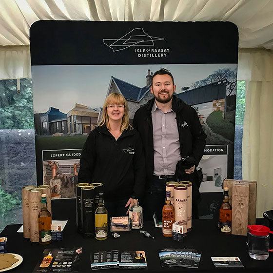 Raasay Distillery at Whisky Fringe 2019