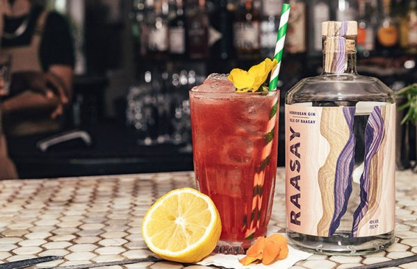 The Isle of Autumn Cocktail with Isle of Raasay Gin