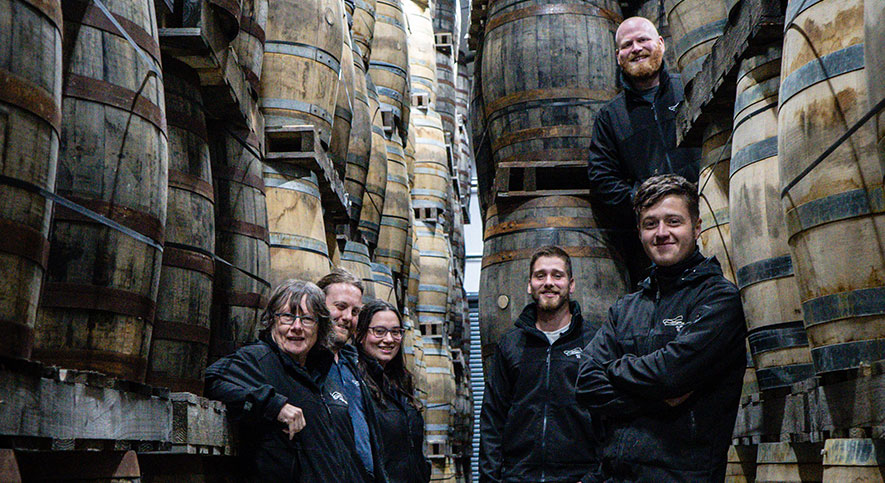 Toasting Two New Isle of Raasay Distillery Warehouses