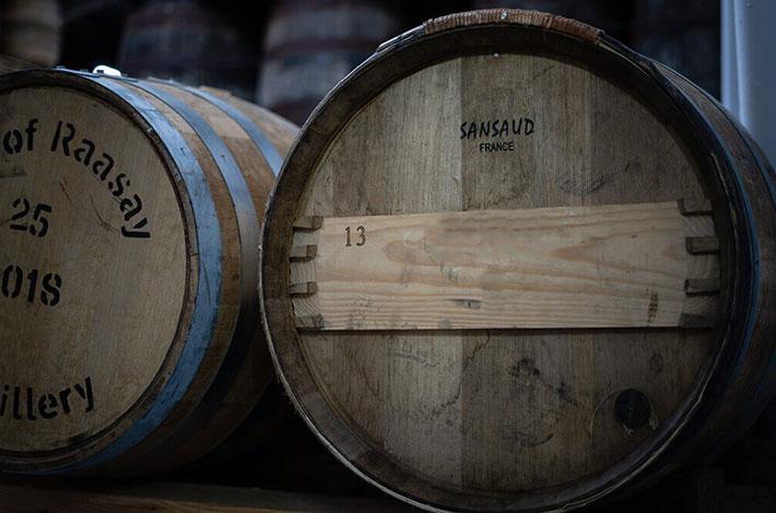Ex-Bordeaux Raasay Distillery Cask